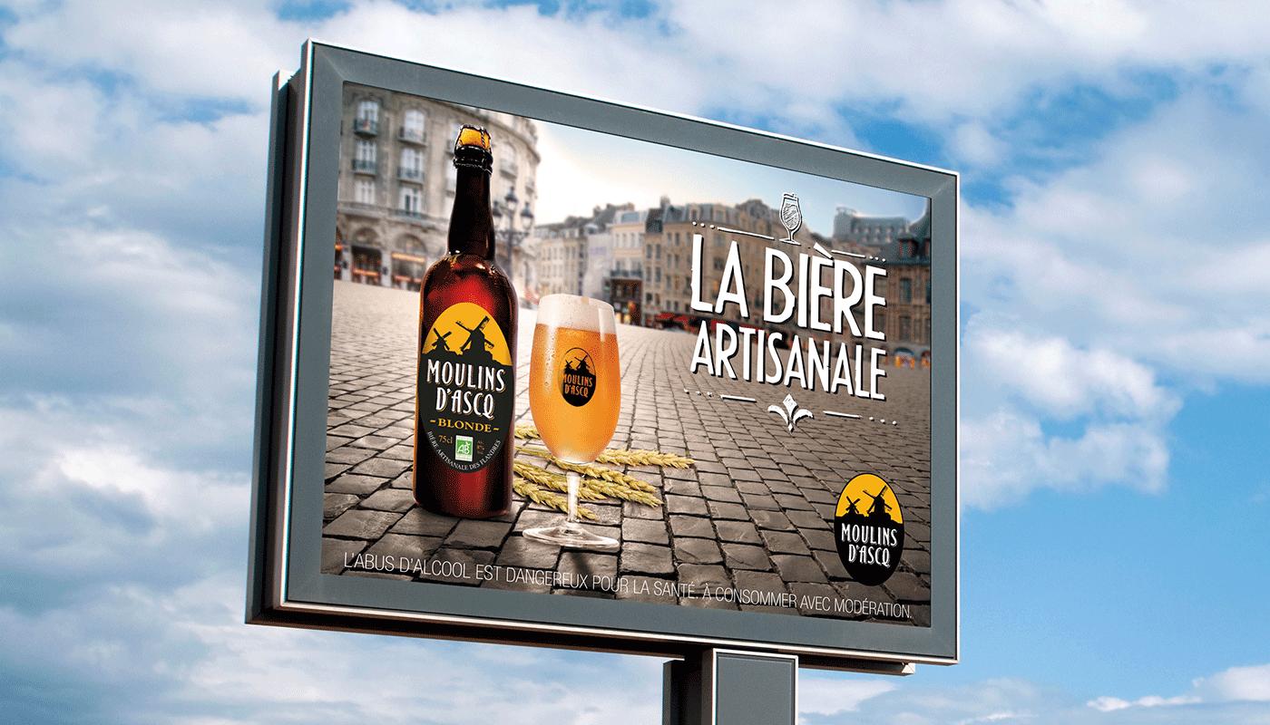 Agence de com lille campagne d 39 affichage publicitaire - Mr bricolage moulins ...